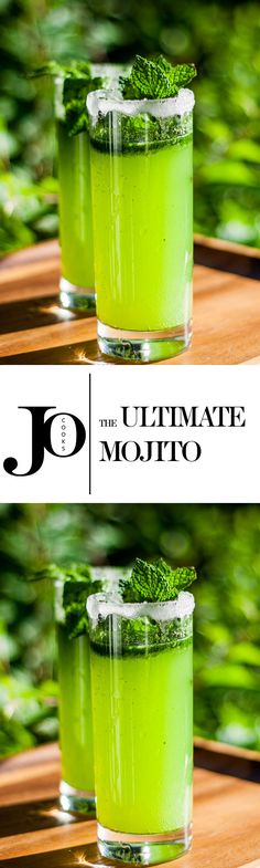 The Ultimate Mojito! It's slushy! It's yummy! Oh yeah!