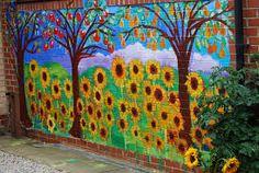 Collaborative mural project for children