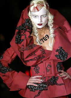 My FAVORITE Dior by Galliano show! I loved the French Aristocrat/Revolution inspiration! It was amazing!