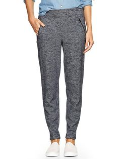 Zip-pocket track pants