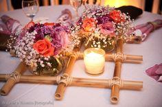 Arranjo de Mesa Para festa de Casamento - Fotos e Modelos
