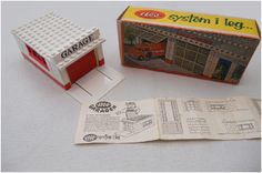 Lego old garage boxed