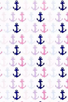 Find images and videos about blue, sea and wallpaper on We Heart It - the app to get lost in what you love. Anchor Wallpaper, Nautical Wallpaper, Iphone 6 Wallpaper, Computer Wallpaper, Cellphone Wallpaper, Cool Wallpaper, Pattern Wallpaper, Wallpaper Backgrounds, Iphone Backgrounds