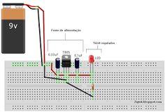 ZigTek: Regulador Tensão 7805