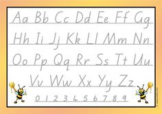 A comprehensive pack of cards for junior students to learn to write the alphabet. Many options available . simply print the ones you would like for your classroom. Designed to be laminated. Students & and wipe& Great for a literacy centre & School Resources, Classroom Resources, Teaching Resources, Spelling Words, Sight Words, Daily 5 Activities, Alphabet Cards, Learning To Write, Handwriting Fonts