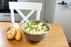 #vegetables #galicja #kitchen #bread #salat