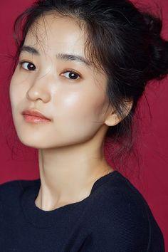 Character inspiration!!! Korean Beauty, Asian Beauty, Korean Celebrities, Celebs, Beauty Make Up, Hair Beauty, Kim Sohyun, Clear Face, Beautiful Asian Girls