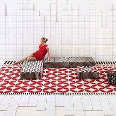 La geometría conquista el suelo