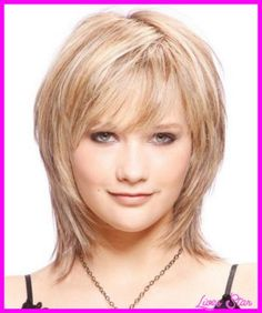 Thin fine hairstyles for round