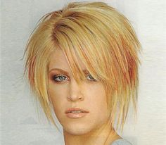 Spicy edgy hairstyles for short hair Short edgy haircut with way ends
