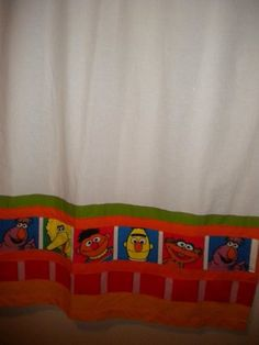 1000 Images About Sesame Street Bedroom On Pinterest
