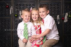 Brother and Sister Matching Christmas Outfits by mellonmonkeys, $71.00