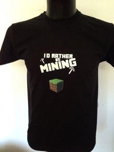 Black tshirt Minecraft, Mens Tops, T Shirt, Black, Fashion, Moda, Tee, Black People, Fasion