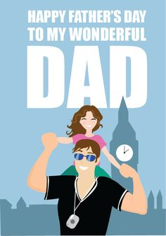 Father's Day Poster, Father's Day Print, Fathers Day Gift ...