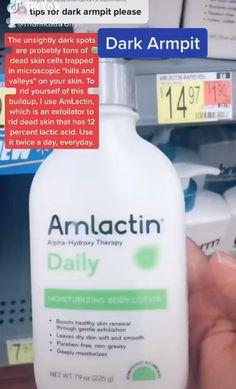 Dark Armpits, Healthy Skin Tips, Face Skin Care, Oily Skin Care, Beauty Tips For Glowing Skin, Skin Care Routine Steps, Skin Care Remedies, Tips Belleza, Skin Treatments
