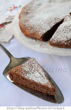Torta alle mandorle e cioccolato solo albumi ricetta facile vickyart arte in cucina