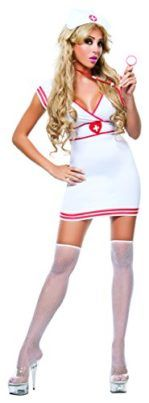 Starline Womens Sexy Bedside Nurse Costume Set #Halloween #Costume #Nurse