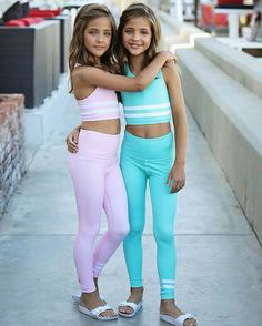 So excited that it's our birthday today 👯♀️🎉 All dressed up in our favorite colors thanks to 💪🏼🧘🏼♀… – Preteen Clothing Preteen Girls Fashion, Young Girl Fashion, Teen Girl Outfits, Girls Fashion Clothes, Cute Outfits For Kids, Kids Fashion, Tween Girls Clothing, Teenage Outfits, Little Girl Models
