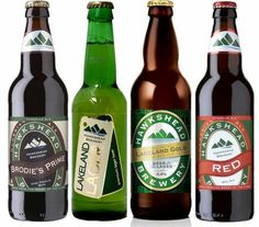 Hawkshead Brewery, situated a mere stones throw away from ourselves, produce some fantastic beers. You can find a selection at our shop! #Hawkshead #Beer