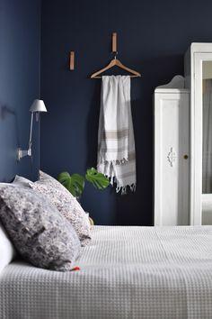 moderni puutalo: Makuuhuoneen tyynyt