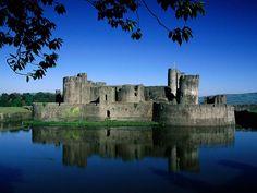 Caerphilly Castle, United Kingdom