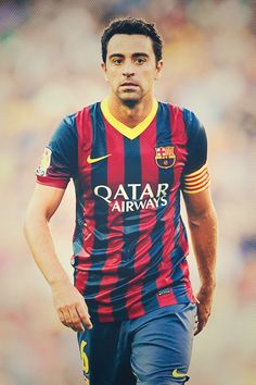 Xavi Hernandez I will miss him being at Barca so much. The tears are real