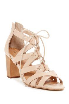 e24030e84 These Nude Corso Como Corgi Chunky Heel Sandals are everything. Felicia Hunt