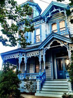 Beautiful blue Victorian