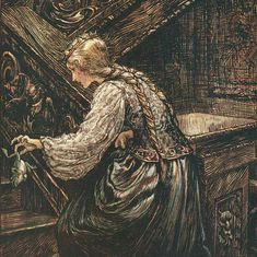 The Frog Prince by Arthur Rackham