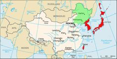 Edited map to reflect the situation of Asia in 1930 (Creation of Manchukuo as Japanse puppet state)