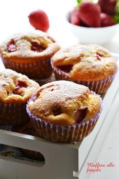 Muffins alle fragole con stevia-Una siciliana in cucina Stevia, Scones, Biscotti, Tart, Muffins, Brunch, Cupcakes, Cooking, Breakfast