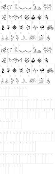 Xmas cartoon font