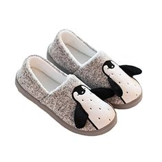 Colias Wing Penguin Warm Winter Indoor Outdoor Slippers for Toddler//Little Kid