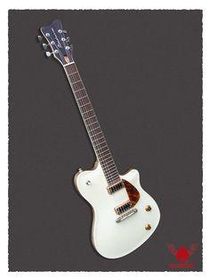 soledad jet ivory guitar