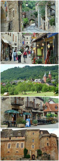 Martel to Rocamadour guidebook for long-distance walkers #walkingholidayinfrance