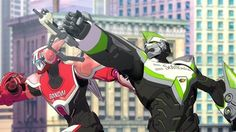 "tiger and bunny | ... Plane! It's… ""Tiger and Bunny""!? 