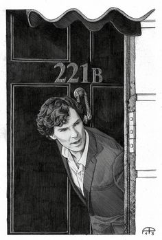 alessiapelonzi: Here's another setlock drawing. Lead pencil + grey pencil + Mr. Benedict Cumberbatch as Sherlock Holmes. I used a beautiful photo by Tiia Öhman as a reference, here you can find the original picture: link Hope you like it!