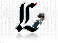 Death Note L Wallpaper