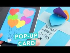 3D Pop-Up Card | DIY Card Ideas | Nailed It - YouTube