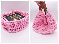 "Crochet for beginners: So you can crochet a basket AND a bag : This post contains advertising for ""We are knitters"". I& been thinking about crocheting a few storage baskets for a while and now I& finally got to work. First I wanted simple textile yarn… Beginner Knitting Projects, Knitting For Beginners, Fair Isle Knitting, Free Knitting, Best Christmas Presents, Cool Sports Cars, Storage Baskets, Crochet Flowers, Diy Fashion"
