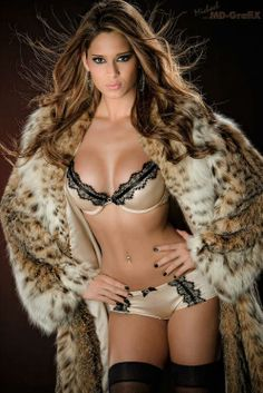 Can't ever get enough of Lynx fur