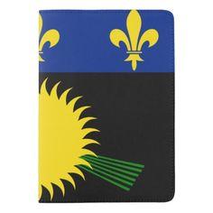 Gaudeloupean flag passport holder