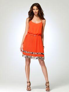 LOVE this dress!!! aaahhhh| Tangerine Dream Dress | Caché