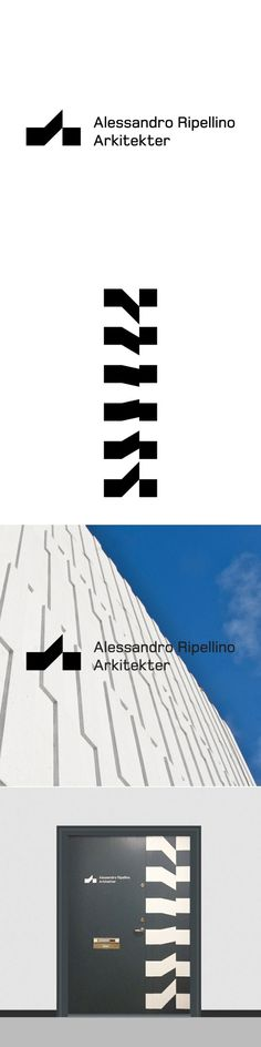 """BankerWessel – Identity with """"extended logo"""" for Alessandro Ripellino Arkitekter"""