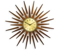 The Conran Shop Online - Pluto Sunburst Clock
