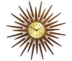 1000 Images About Sunburst Clocks On Pinterest