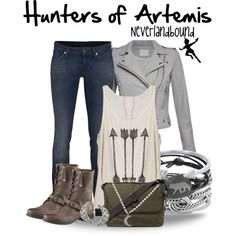 """Hunters of Artemis Neverlandbound"" by gallifreyangryffindor on Polyvore"