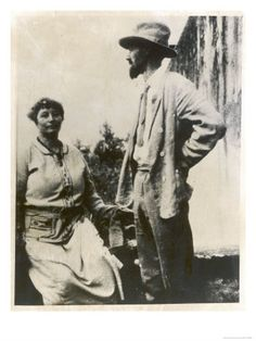 size: Giclee Print: D H Lawrence English Novelist with His German Wife Frieda : Dh Lawrence, Fine Art Prints, Canvas Prints, Framed Prints, Vintage Prints, Figurative Art, Poster Size Prints, Film, Find Art