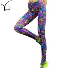 High Elasticity Printed Women Yoga Pants / Leggings / Tights //Price: $19.94 & FREE Shipping //     #yogainspiration