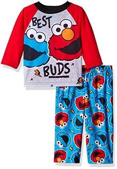94596e6c25 Sesame Street Boys  Pajama Set